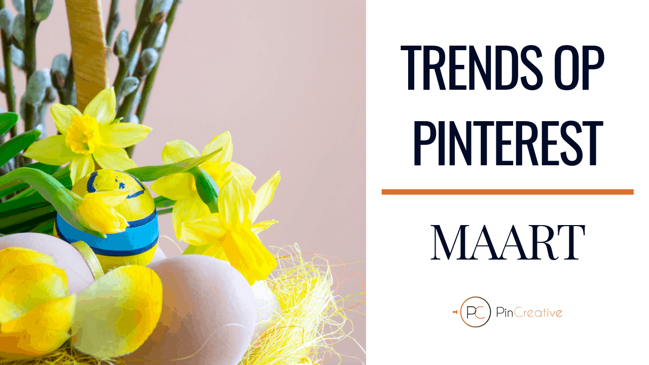 Pinterest marketing trends maart