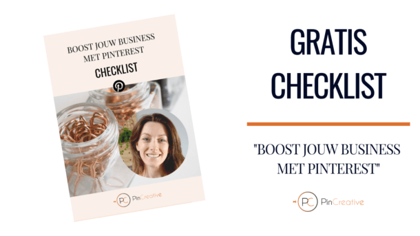 PinCreative Pinterest gratis checklist.