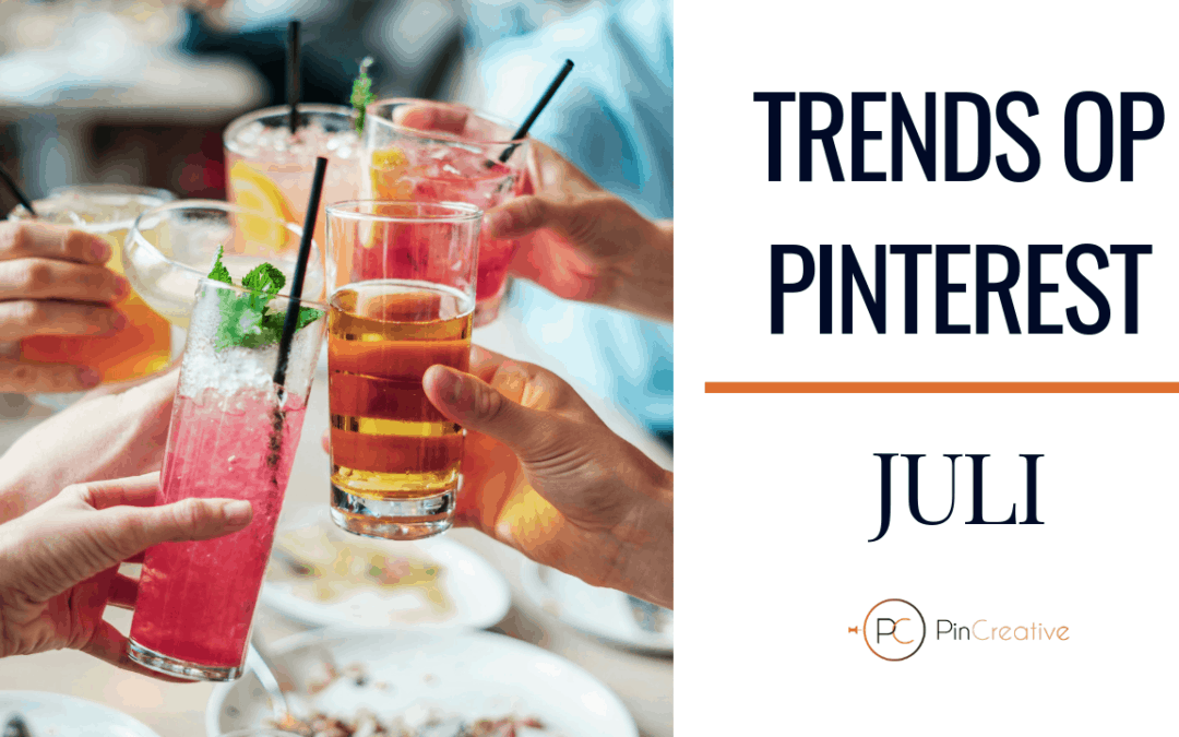 Pinterest marketing trends juli