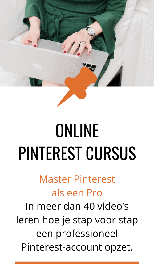 Pinterest online cursus training
