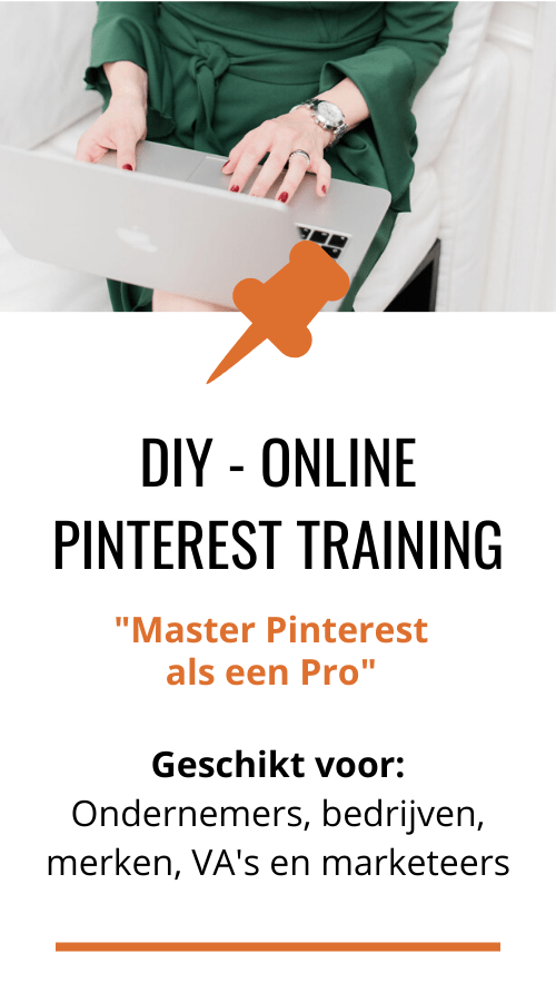 Pinterest marketing voor ondernemers en bedrijven. Leer alles in de online training en community